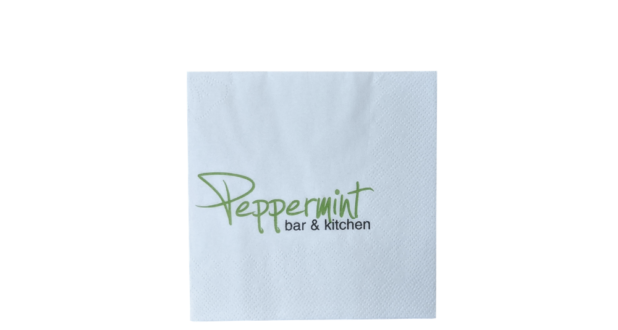 Cocktail Napkins Printed Napkins & Cutlery Sleeves