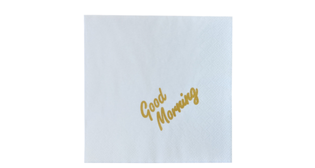 Lunch Napkins Printed Napkins & Cutlery Sleeves