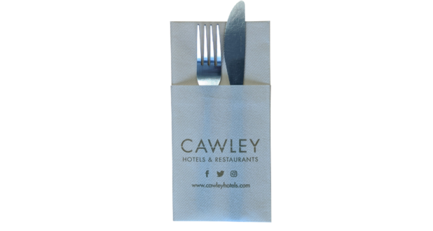 Pouch Napkins Printed Napkins & Cutlery Sleeves