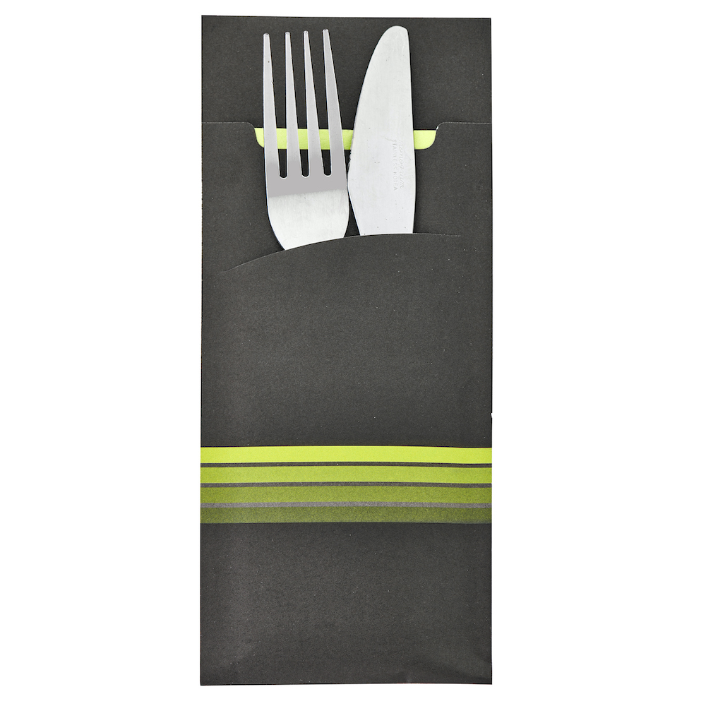 Cutlery Sleeves Printed Napkins & Cutlery Sleeves